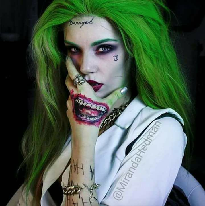 This is badass, a female Joker