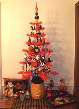 antique and vintage halloween collectibles decorating ideas