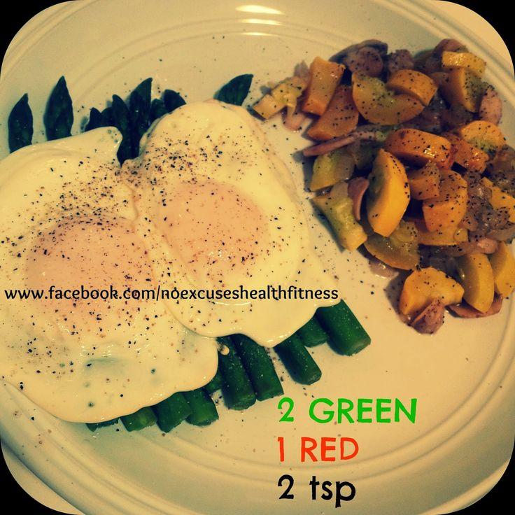 Asparagus and Egg Dinner....