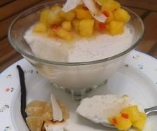 Coconut Pana Cotta with Pineapple Salsa (from the BBC Good Food magazine) | Official Thermomix Recipe Community