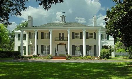 "Southern Colonial. Sulphur Springs, Texas. ""Gone with the Wind"", you won't find southern style any finer than this wonderfully maintained and restored 1938 colonial mansion"