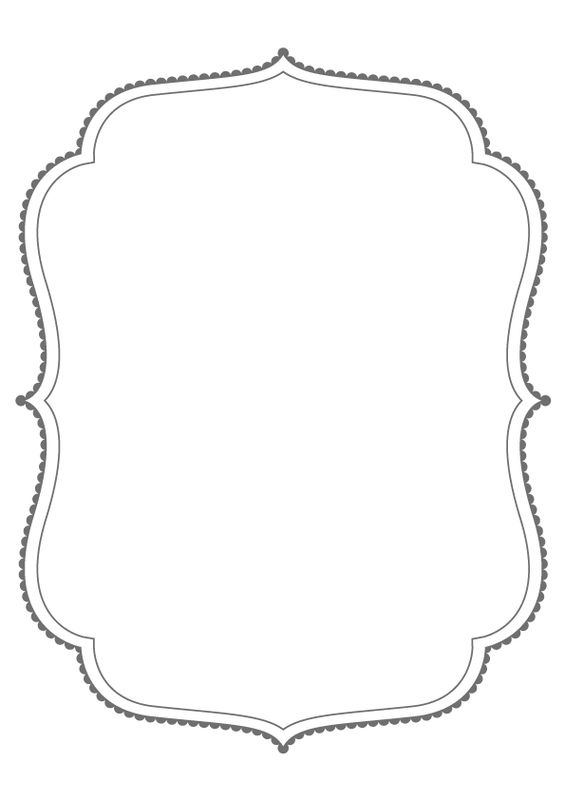 Glasses Frame Outline : Dropbox - Bracket frames from puresweetjoy clip art ...