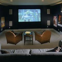 19 best images about big screen tv on pinterest media for Tv room seating arrangements