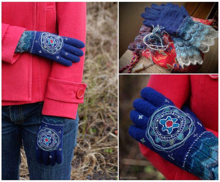 Kristi Jõeste blogi: Kosmilise Iluduse kindad /Gloves for the Cosmic Beauty