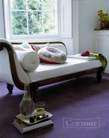 Cormar's Town and Country. Colour Plum.  Available in 4m and 5m wide.