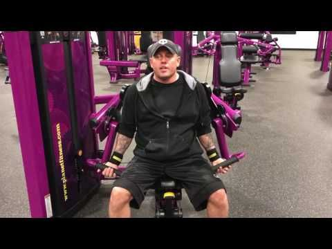 Planet Fitness Bicep Curl Machine - How to use the bicep curl machine at planet fitness - YouTube