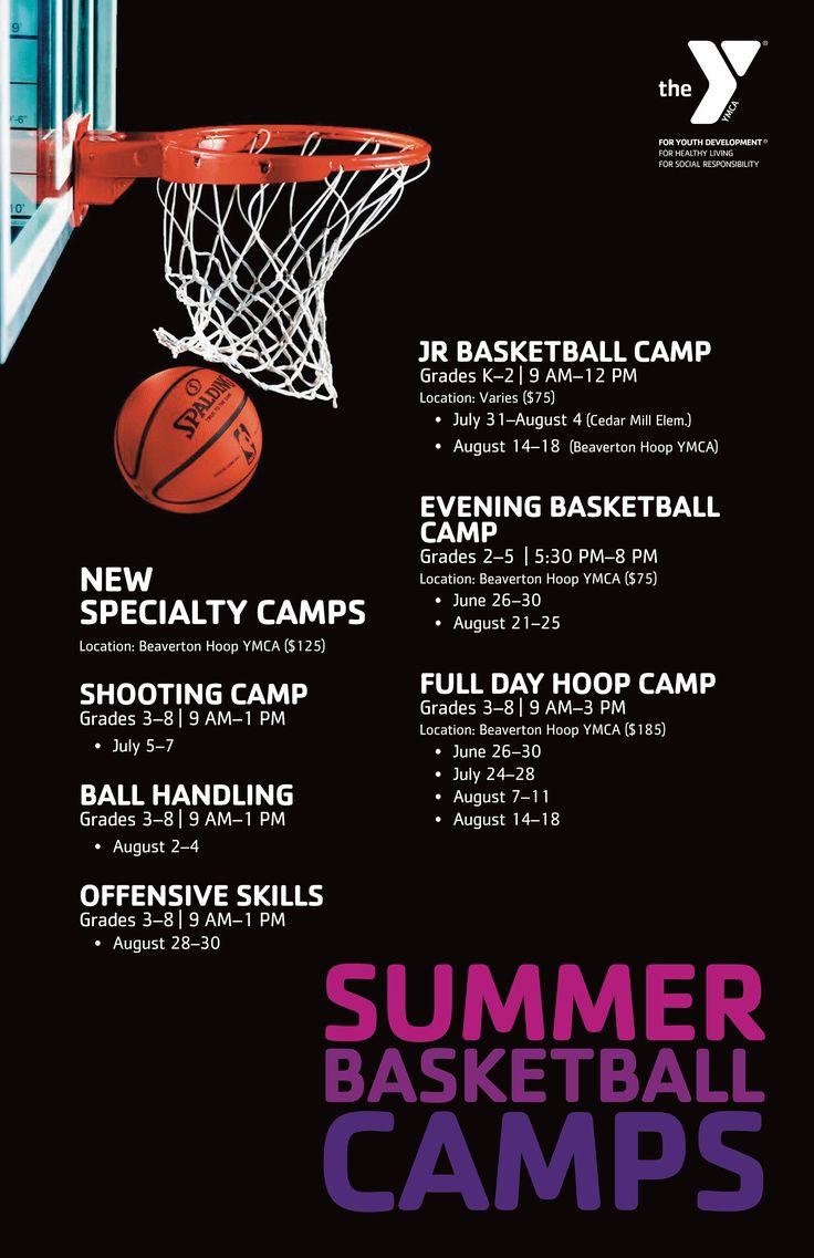 2017 Great YMCA Basketball summer camp programs! YMCA of