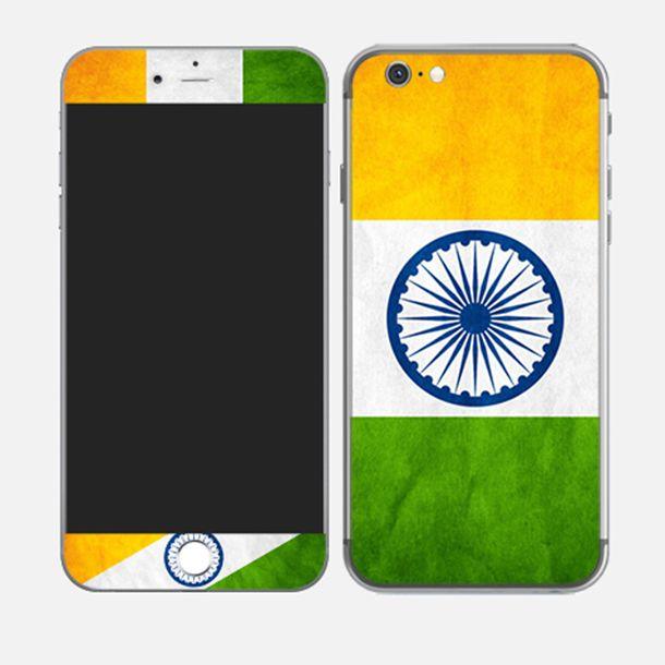 #iPhone6plus #india #tricolour #orange #white #green http://skin4gadgets.com