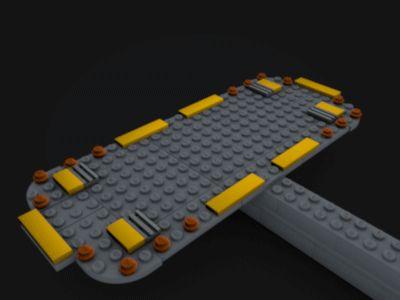 Lego Slave 1 Mini (GIF)