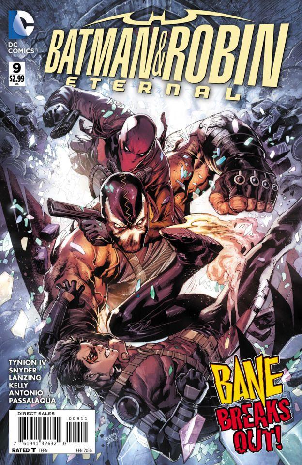 Batman /& Robin Eternal #1  Regular  Cover