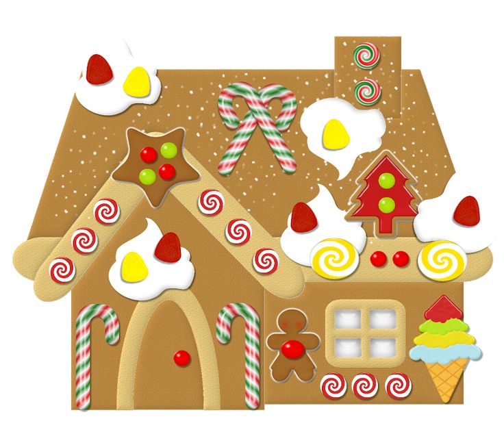 free gingerbread house clipart - photo #47