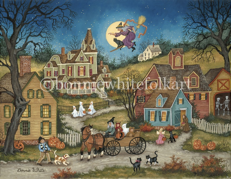 40 Best Bonnie White Folk Artist Painter Images On