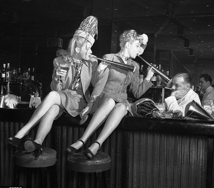 New Year's Eve, NY, 1946