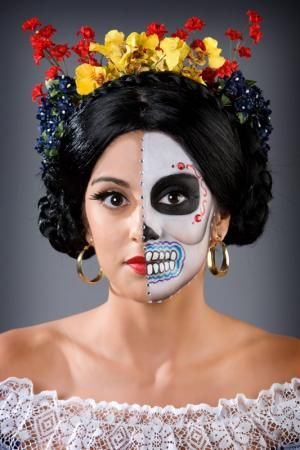 scary halloween makeup shocking pictures scary makeup - Halloween Makeup Professional