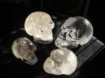 brazilian crystal skull for sale | to locate virtually clear natural Brazilian quartz crystal skulls ...