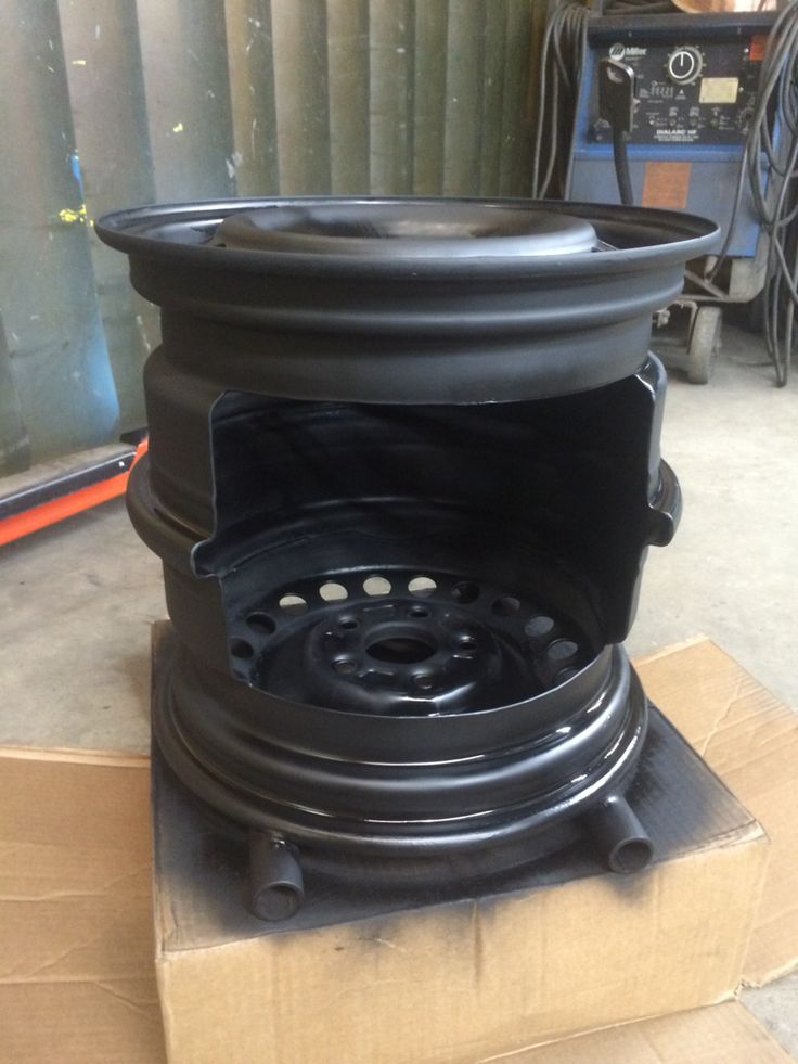 My Version Of The Steel Wheel Fire Pit Metal Crafts