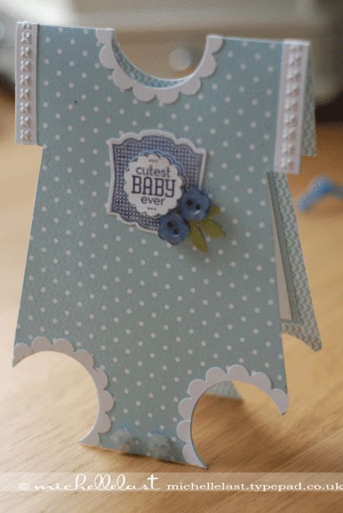 Baby-card, label love, needlepoint border, scallop cirle punch (would probably only do this for a girl)