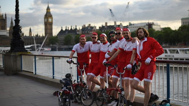 This June, London's best known Sunday League team take on a huge challenge. As Euro 2016 kicks off in France, 14 players from Huracan FC London are raising money for the Huracan Foundation by riding from London to Marseille on folding Brompton Bikes!
