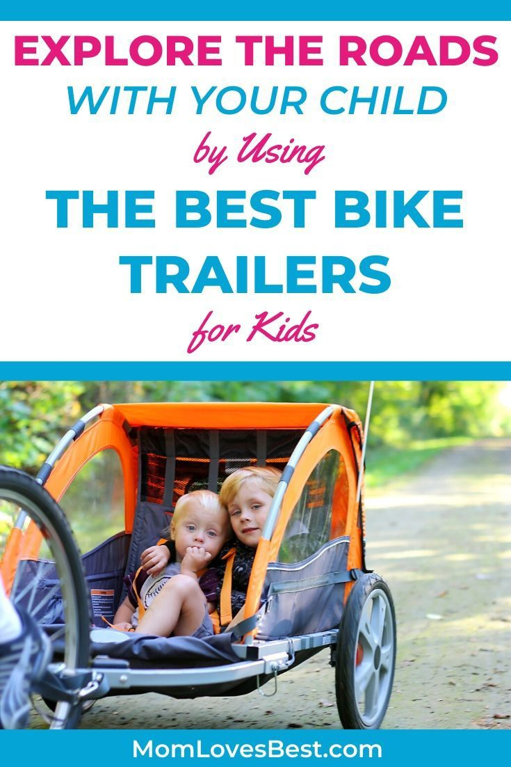 8 Best Bike Trailers For Kids 2020 Reviews In 2020 With Images