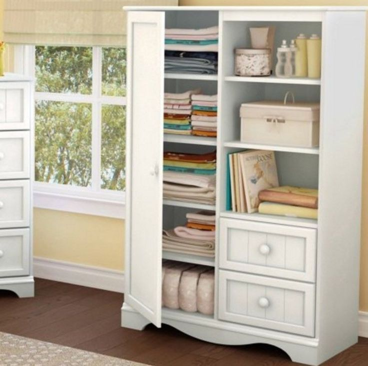 Wardrobe Armoire Storage Closet Cabinet Bedroom Furniture