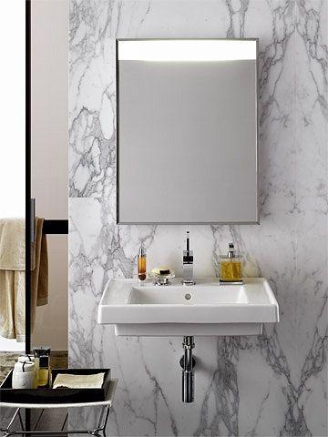 Collection de salle de bains carat lavabos c ramique - Allia salle de bain ...