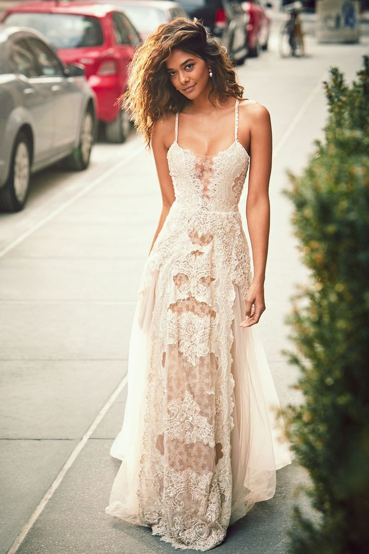 Best 25 wedding sundress ideas on pinterest lace bridal dresses the limited edition liberty gown from our luxe collection features intricate hand beaded swiss embroidery and layers of unique golden hued french lace ombrellifo Image collections