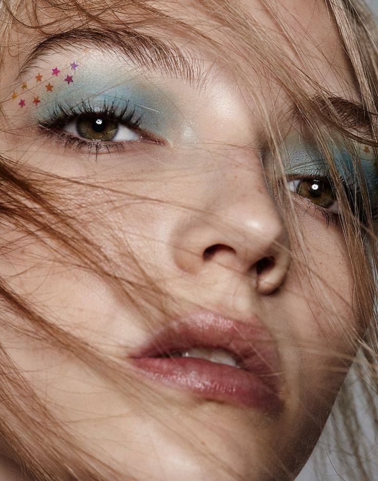Photography: Sarra Fleur Abou-El-Haj. Hair: Peter Matteliano at Bryan Bantry. Makeup: Misha Shahzada at See Management Using Marc Jacobs Beauty. Model: Allie Lewis at IMG.