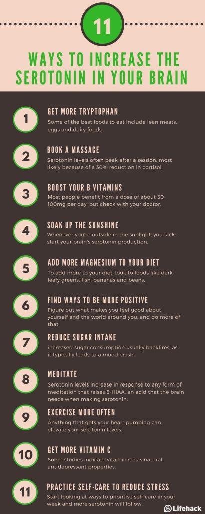 How to increase serotonin levels