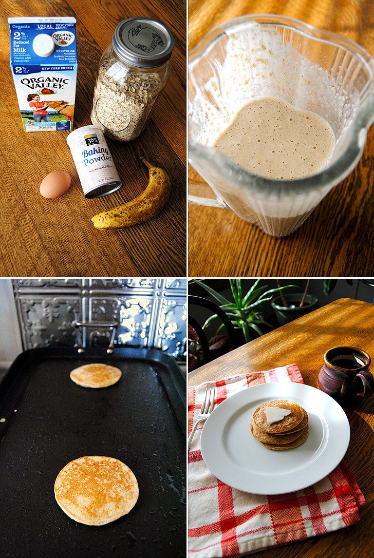 Blender pancakes that actually work (and bonus: are naturally gluten free).