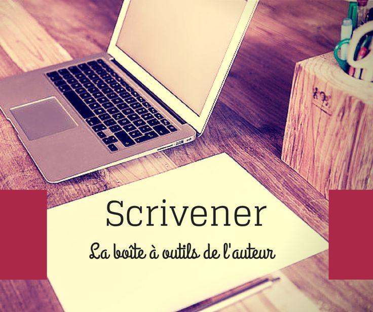scrivener  la bo u00eete  u00e0 outils de l u0026 39 auteur