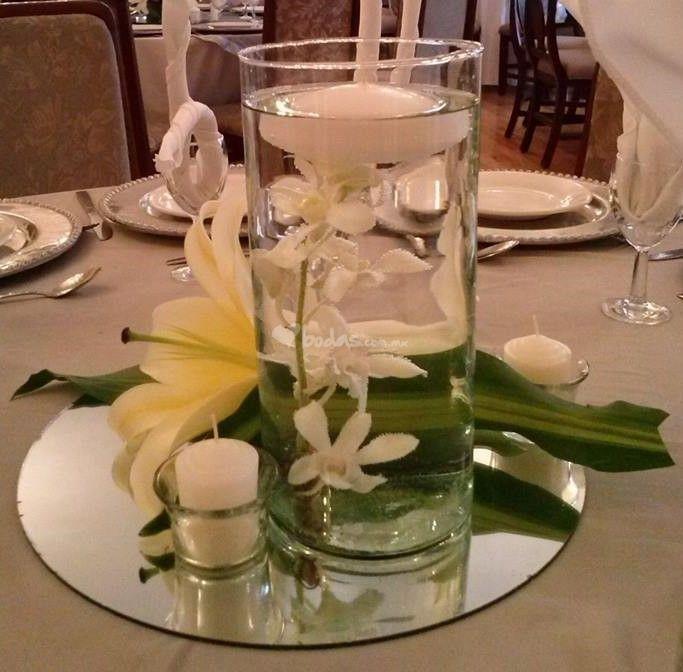 Matrimonio Simbolico Con Velas : Las mejores ideas sobre centros de mesa negros en