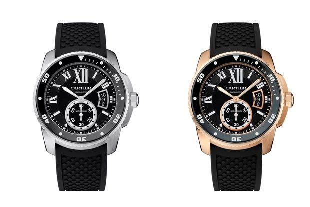 Cartier lança seu primeiro relógio esportivo, para mergulho