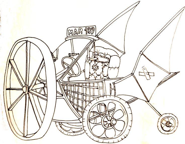 Steampunk vehicle