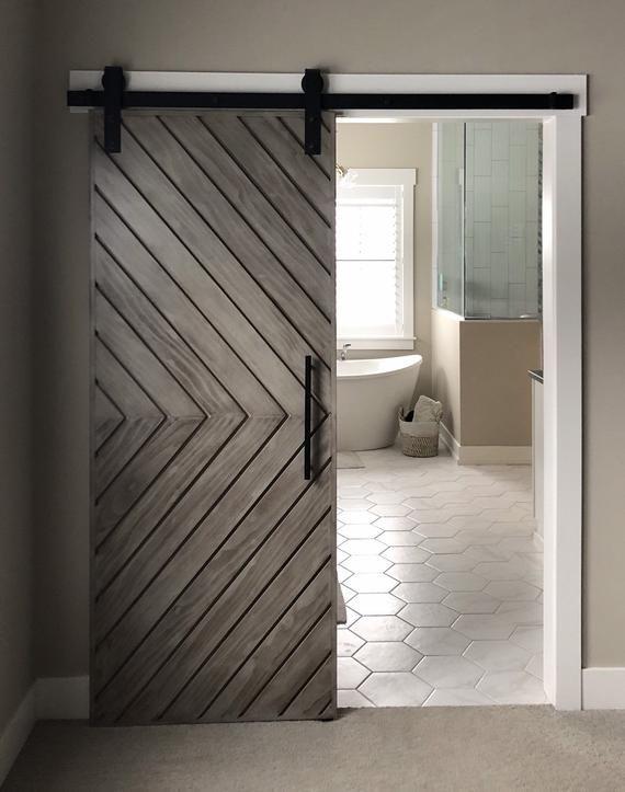 Please Note Sliding Door Track Rollers Are Not Included In The Door Price Make A Statement W Barn Door Designs Interior Barn Doors Modern Sliding Doors