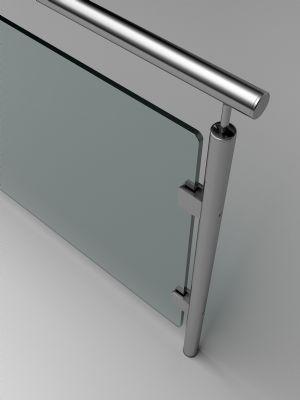 Barandas y escaleras de cristal: Más espacio y más luz