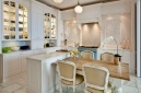 Light and airy - The open-plan dining room / kitchen at Villa Eight, Bantry Bay.