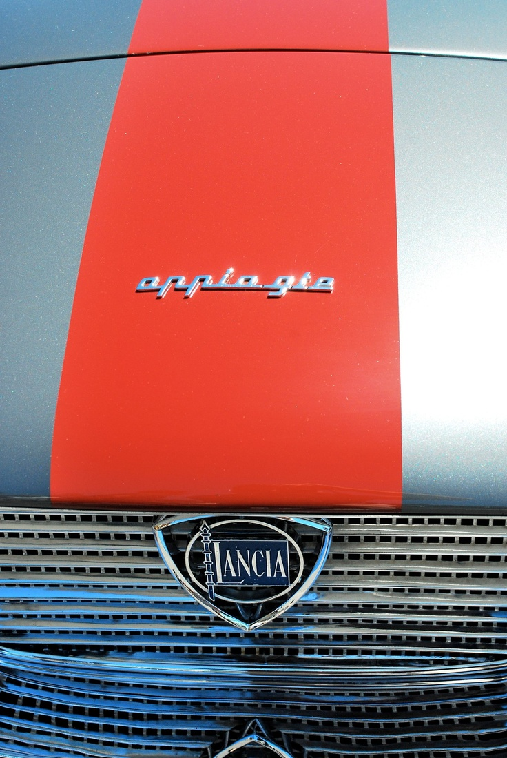 73 best italian job images on pinterest vintage cars car and insignia on a 1959 lancia appia gt zagato vanachro Images