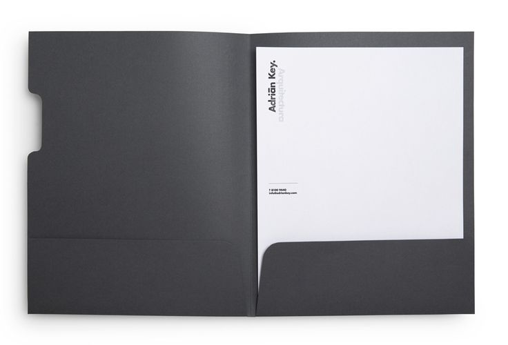Stationery with thermographic ink detail designed by Face Creative for MX architecture firm and architect Adrián Key.