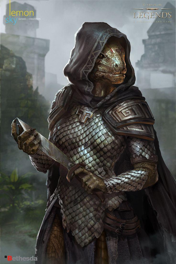ArtStation - The Elders Scrolls Legends, Lemonsky Studio