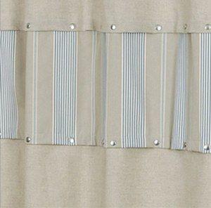 17 meilleures id es propos de rideaux rayures sur pinterest rideaux bla - Toile de mayenne rideaux ...