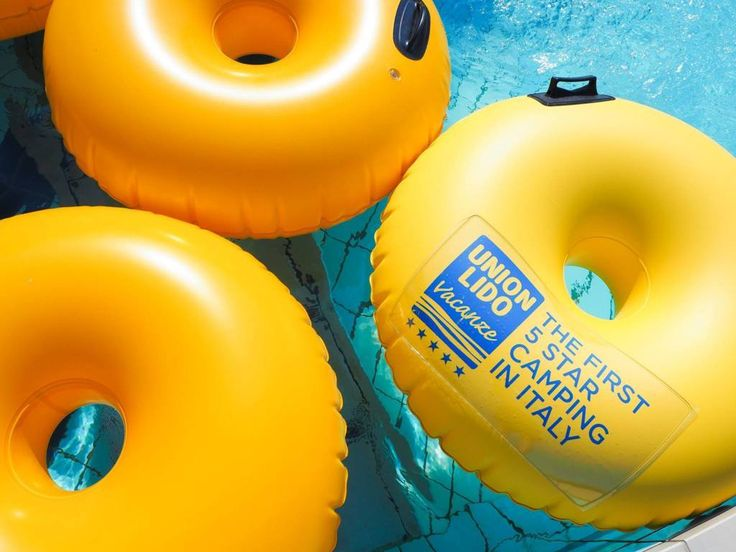 Donuts at the AquaPark Marino! #camping #pool #summer #fun