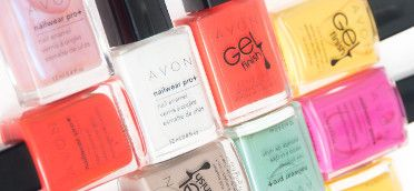 Avon's Nailwear Pro+ Nail Enamel and Gel Finish 7-in-1 Nail Enamel work to…