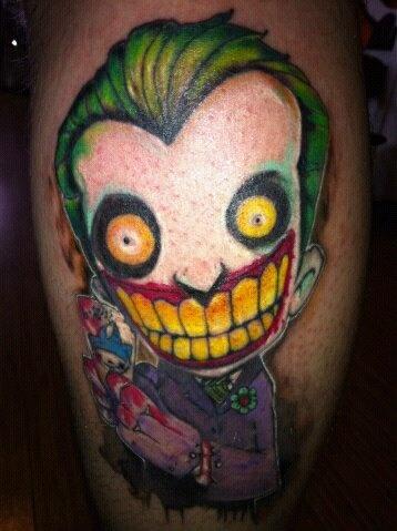 Pinterest the world s catalog of ideas for Joker batman tattoo