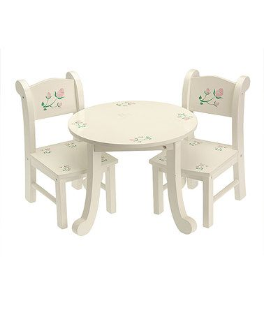 Nice Look What I Found On #zulily! Table U0026 Two Chairs For 18u0027u0027