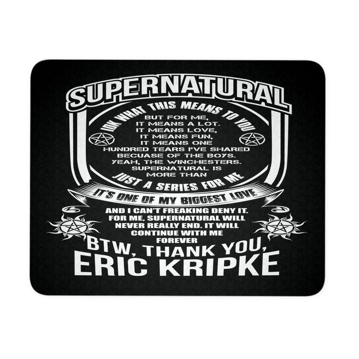 Eric Kripke - Mousepad