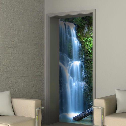 Best Wasserharmonie als T rposter auch selbstklebend Wasserfall FototapeteBadezimmerKinderzimmerWandfarbenFrischLandschaftenDesignsEuro