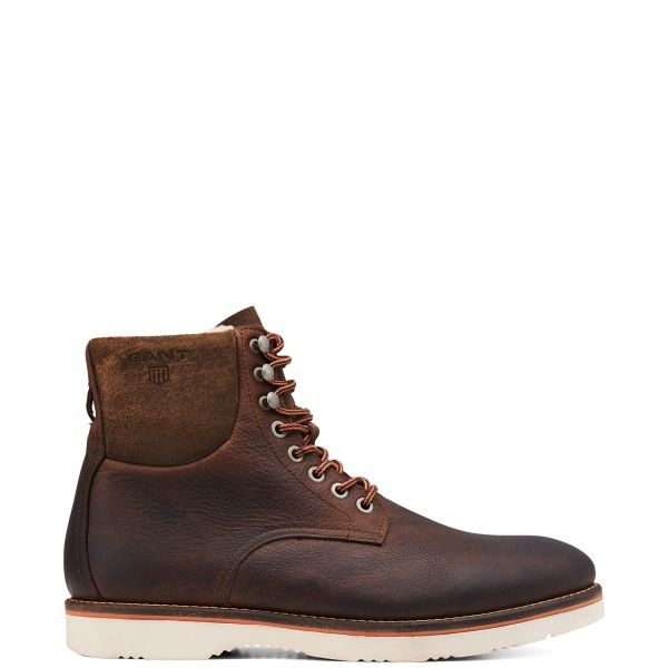 Herr Skor- HUCK LEATHER BOOT