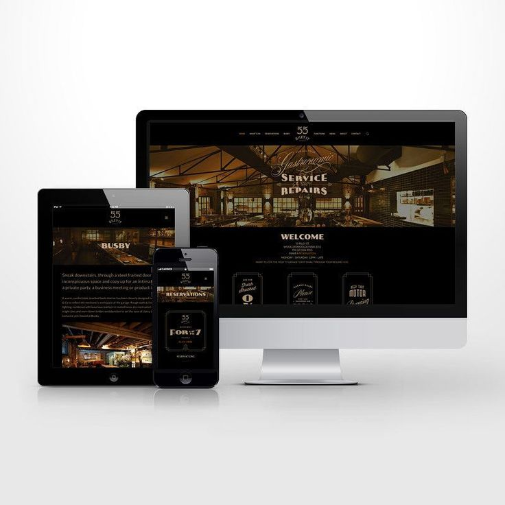 Responsive #wordpress website for the Riley Street Garage. #wordpress  #uidesign #uxdesign #webdesign