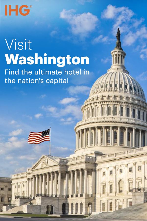 Nestled between Maryland and Virginia on the scenic Potomac River, Washington, D.C. squeezes an amazing list of attractions into 60 square miles. Let IHG help you find the ultimate Washington, D.C. hotel for your stay in the nation's capital.