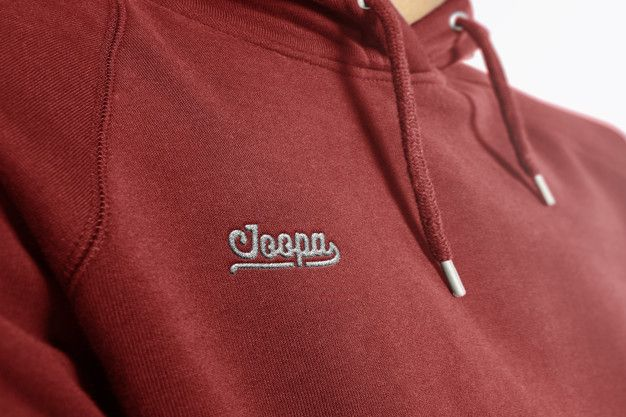 Download Logo Mockup Hoodie Embroidered In 2020 Hoodie Mockup Logo Mockup Embroidered Hoodie